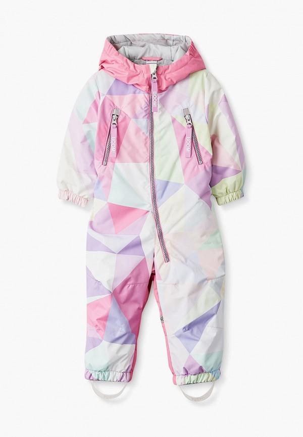 комбинезоны и костюмы boom by orby для девочки, розовые