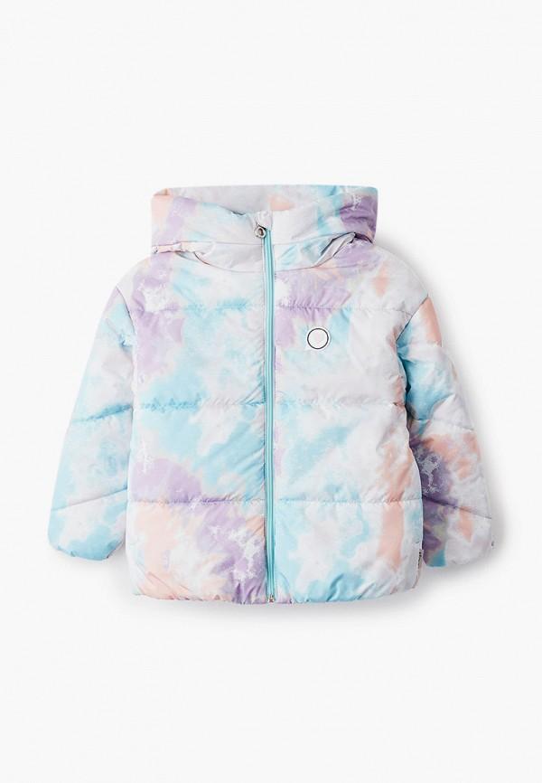 куртка boom by orby для девочки, бирюзовая