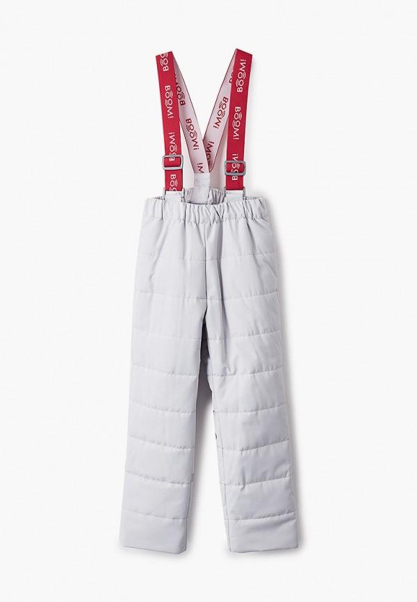 брюки boom by orby для девочки, серые