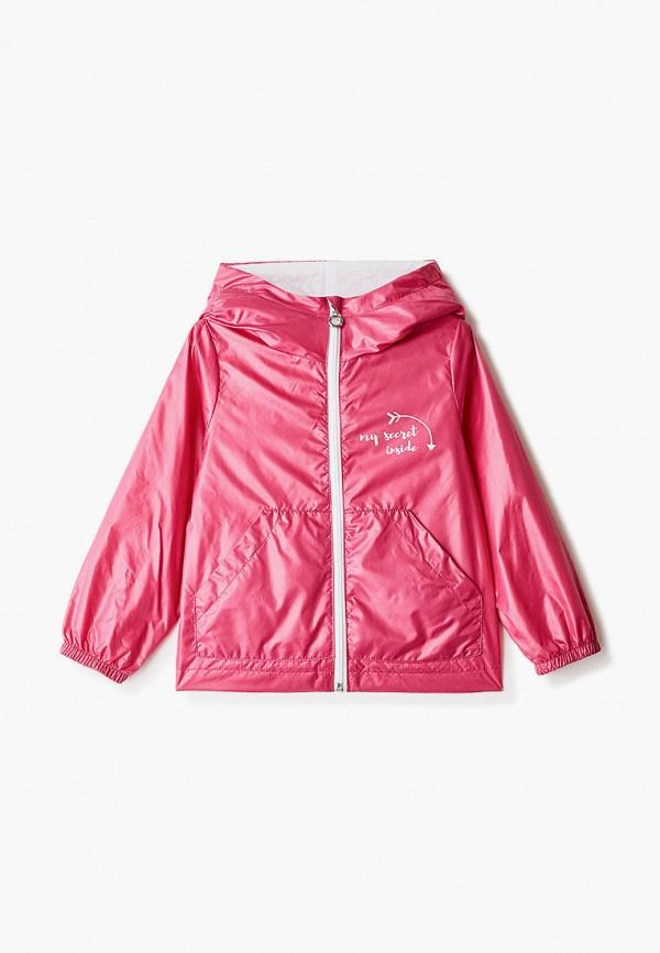 ветровка boom by orby для девочки, розовая