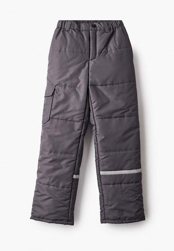 утепленные брюки boom by orby малыши, серые