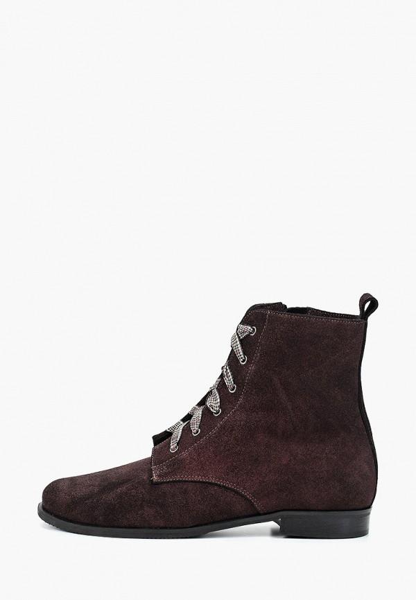 женские ботинки bosccolo, бордовые