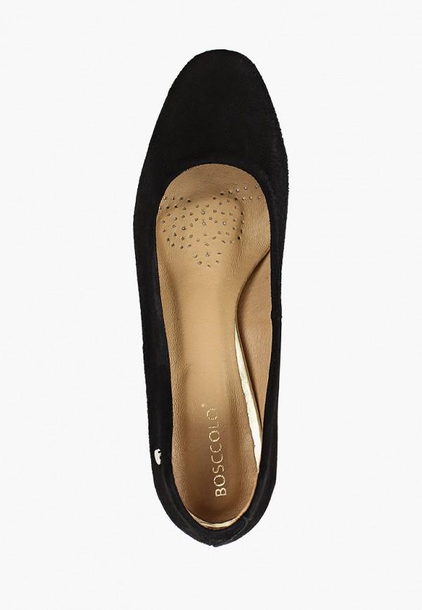 Фото 4 - женские туфли Bosccolo черного цвета