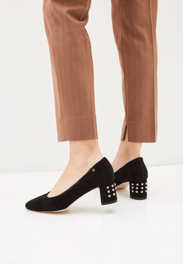 Фото 6 - женские туфли Bosccolo черного цвета
