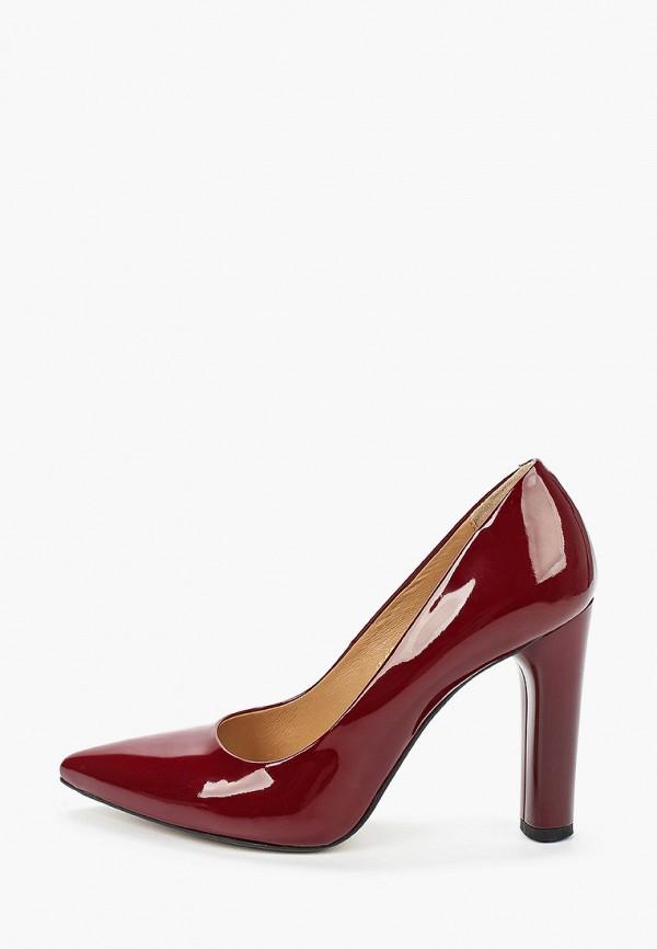 женские туфли bosccolo, бордовые