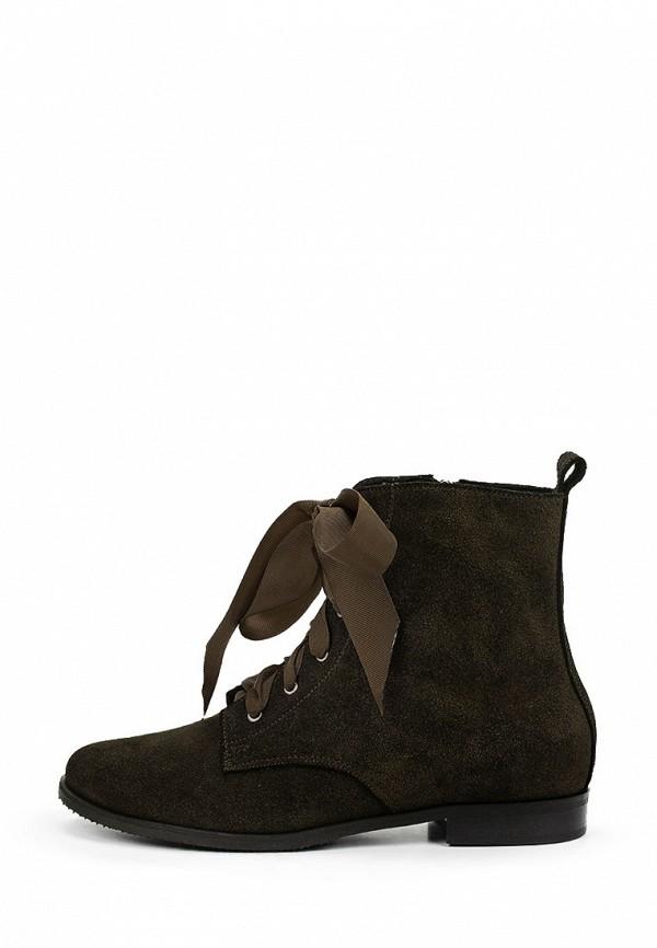 женские ботинки bosccolo, хаки