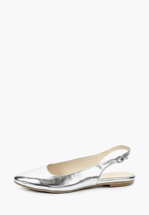женские туфли bosccolo, серебряные