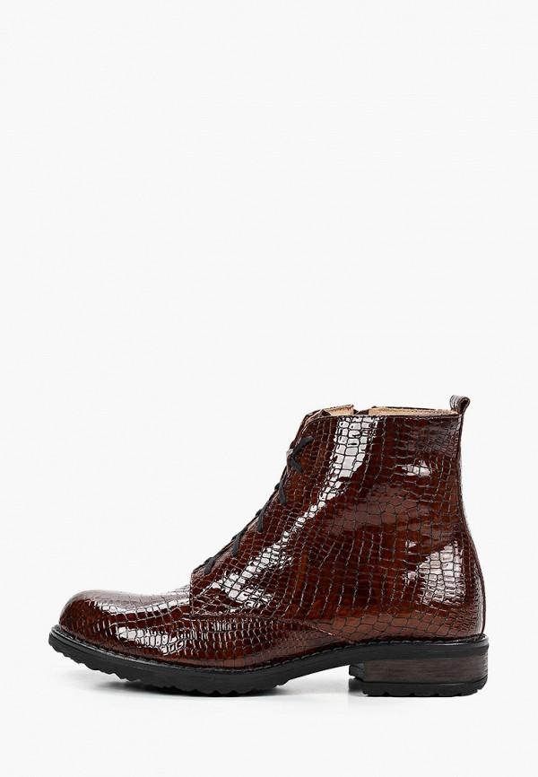 женские ботинки bosccolo, коричневые