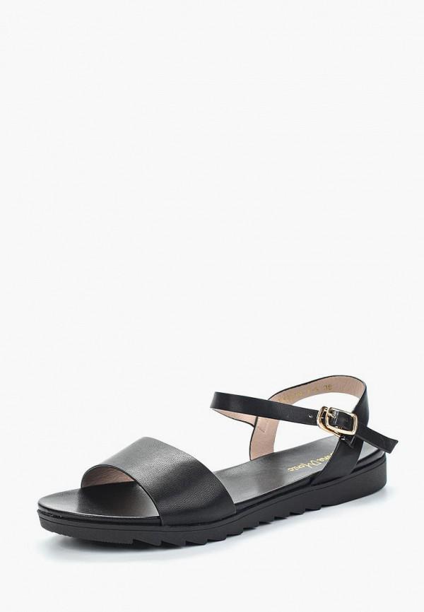 Купить женские сандали Bona Mente черного цвета