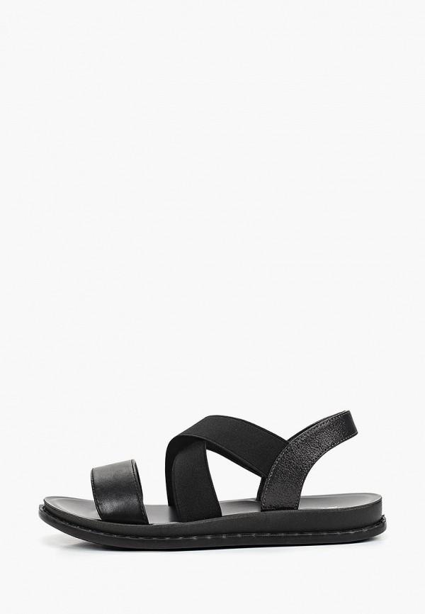 женские сандалии bona mente, черные