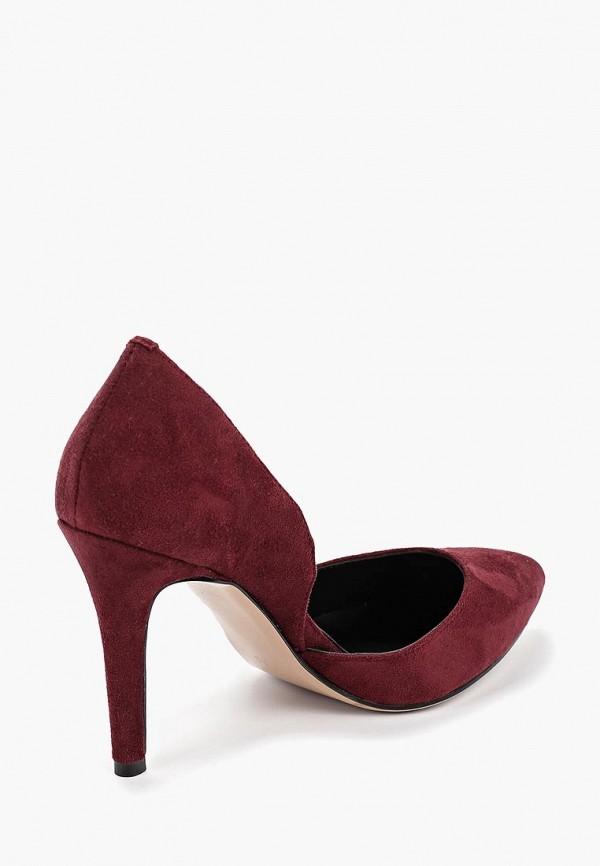 Фото 3 - женские туфли Bona Mente бордового цвета