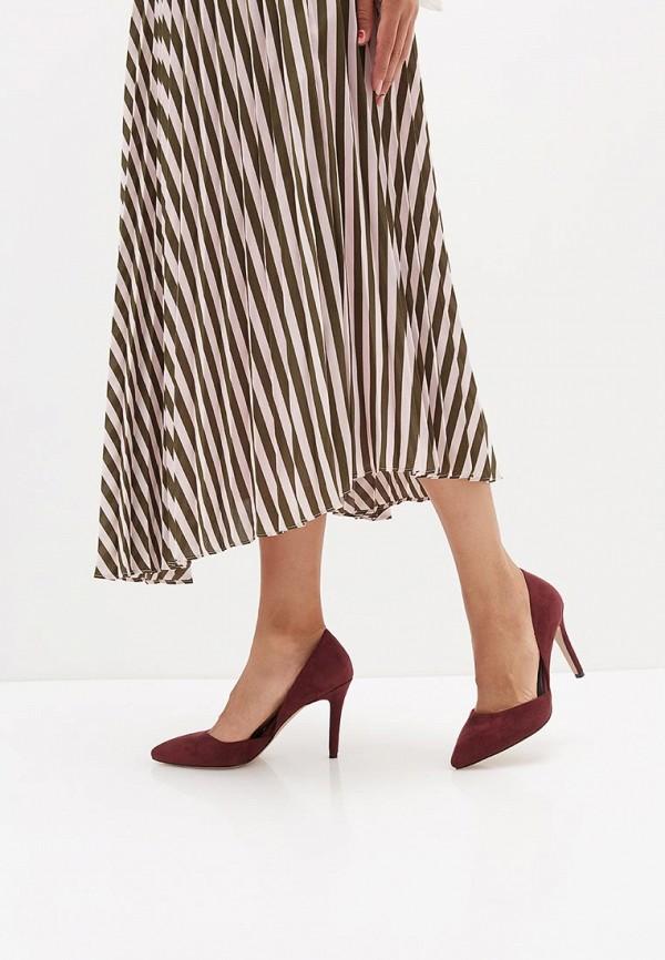 Фото 6 - женские туфли Bona Mente бордового цвета