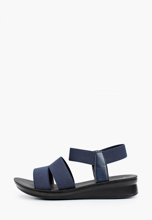 женские сандалии bona mente, синие