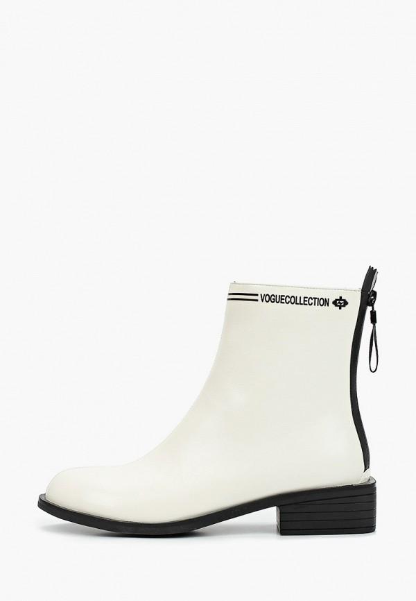 женские ботинки bona mente, белые