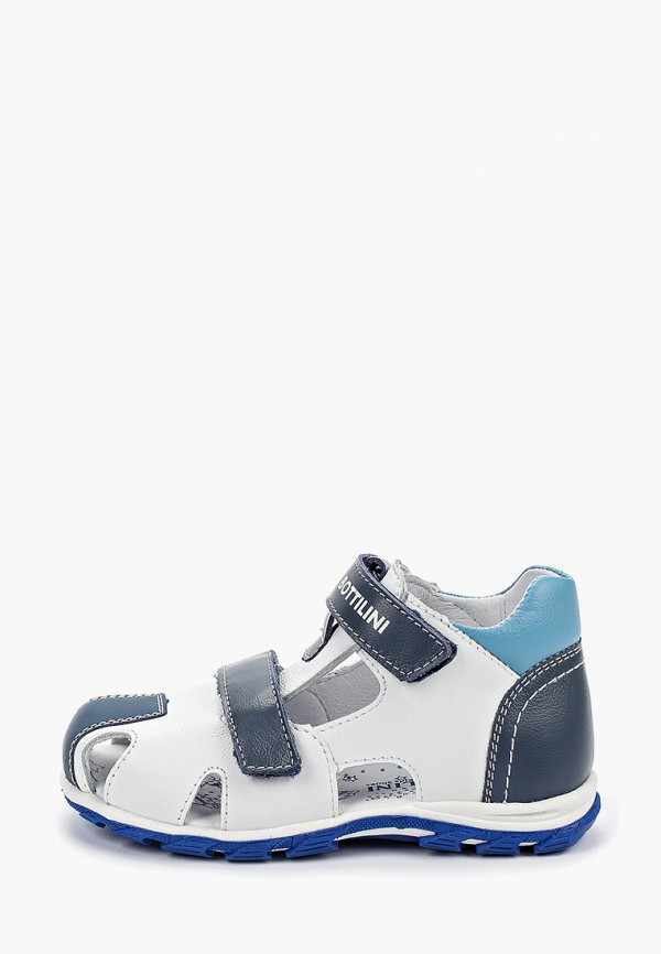 сандалии bottilini для мальчика, белые