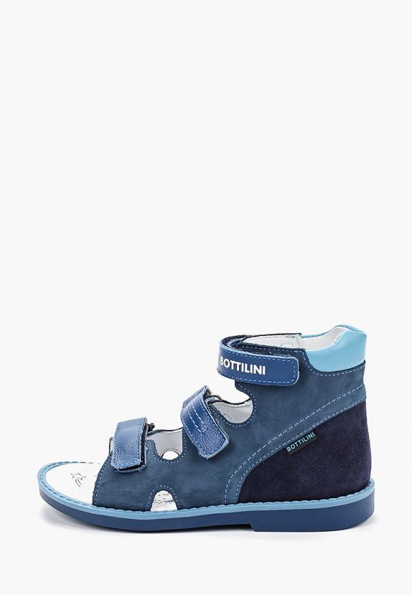 сандалии bottilini для мальчика, синие