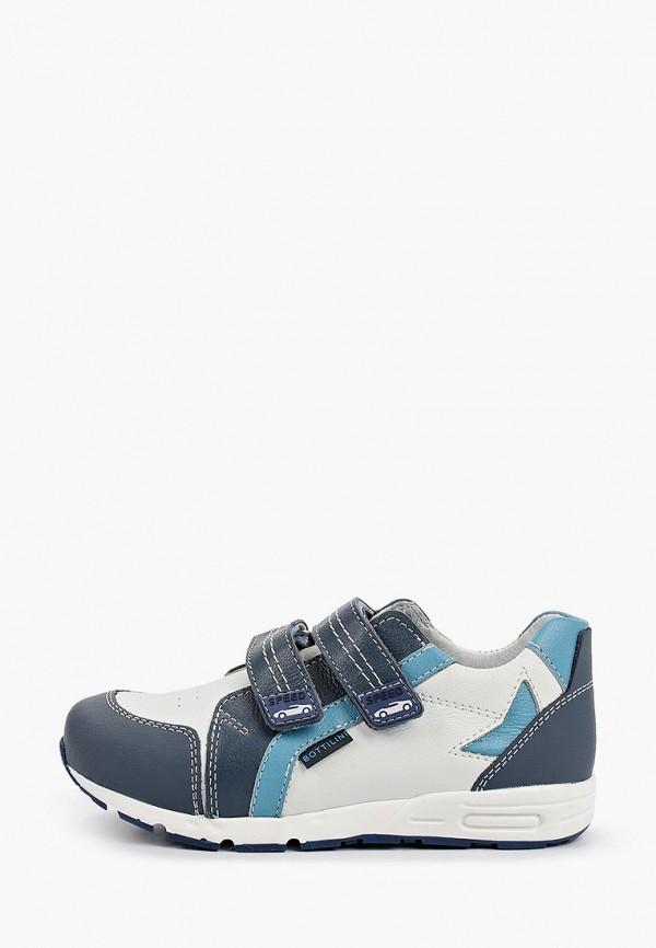 кроссовки bottilini для мальчика, белые