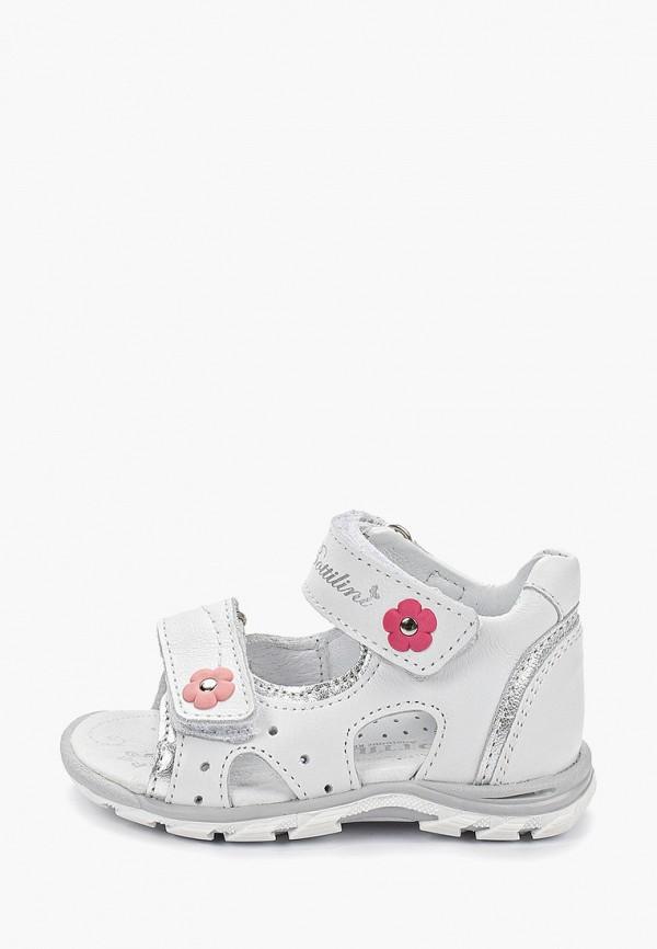 сандалии bottilini для девочки, белые