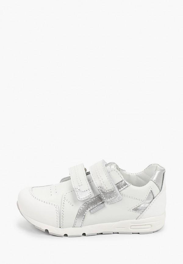 кроссовки bottilini для девочки, белые