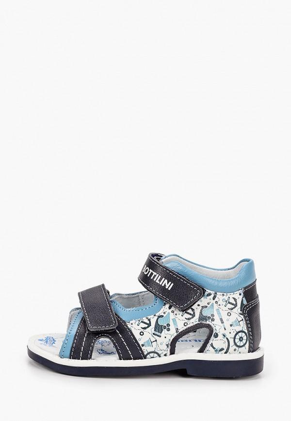 сандалии bottilini для девочки, синие