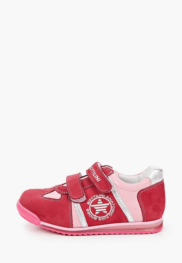 кроссовки bottilini для девочки, розовые