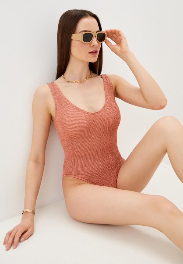 женский купальник bound by bond-eye australia, розовый