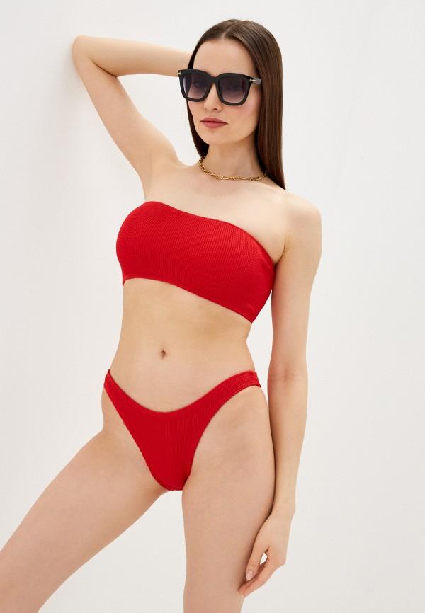 женские плавки bound by bond-eye australia, красные