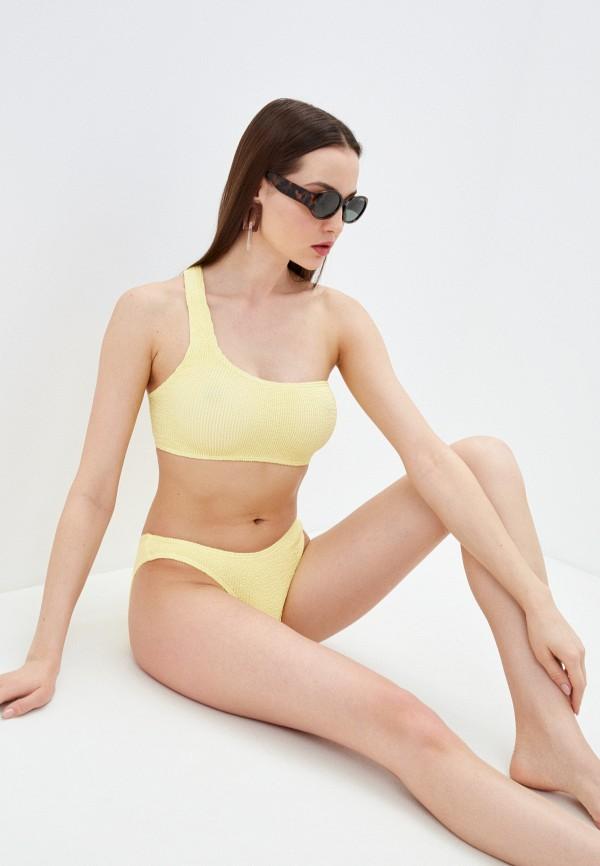 женские плавки bound by bond-eye australia, желтые