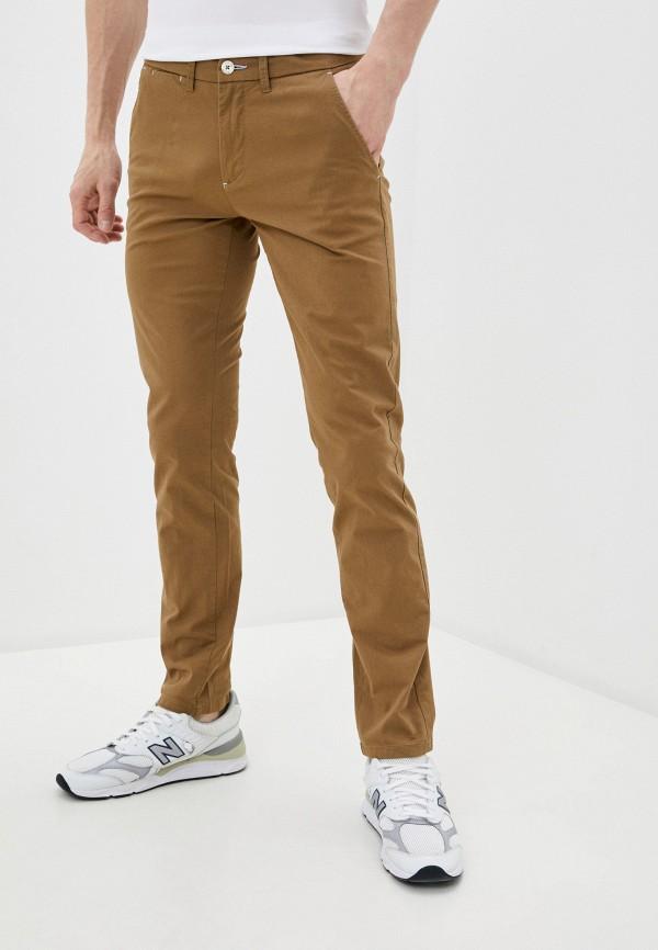мужские повседневные брюки boston, коричневые