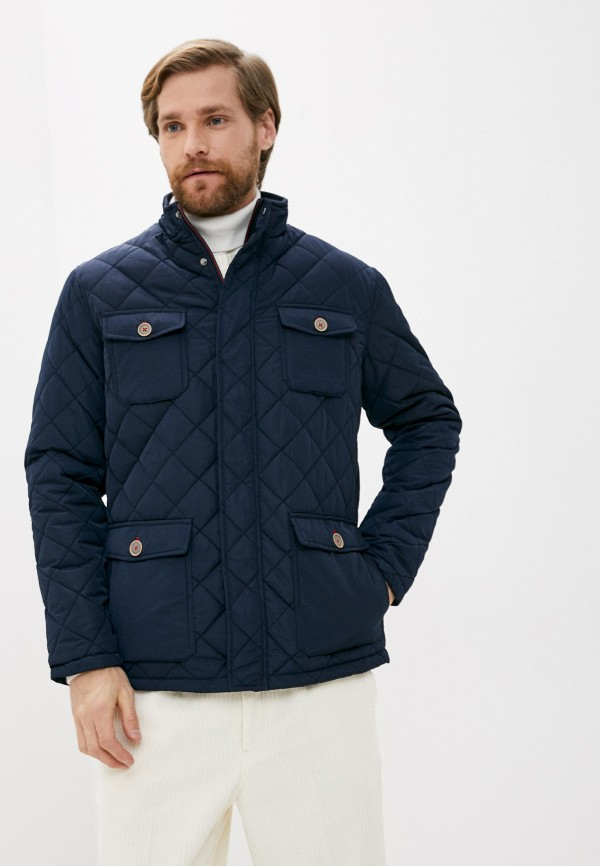 мужская куртка boston, синяя