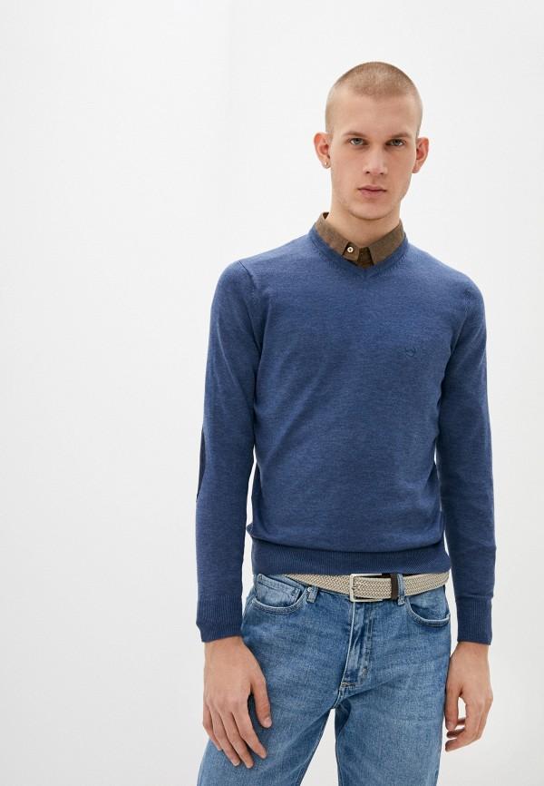 мужской пуловер boston, голубой