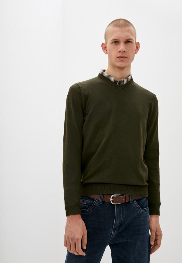 мужской пуловер boston, зеленый