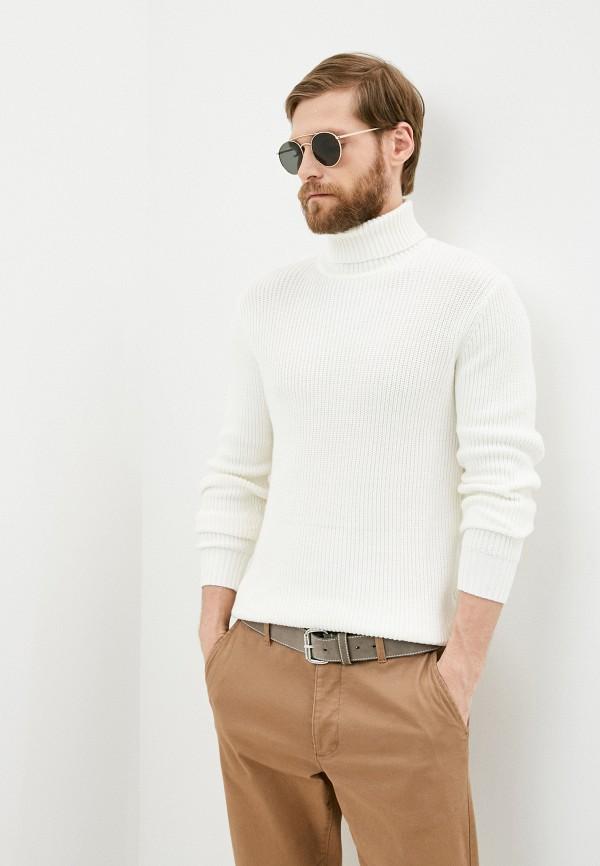 мужской свитер boston, белый