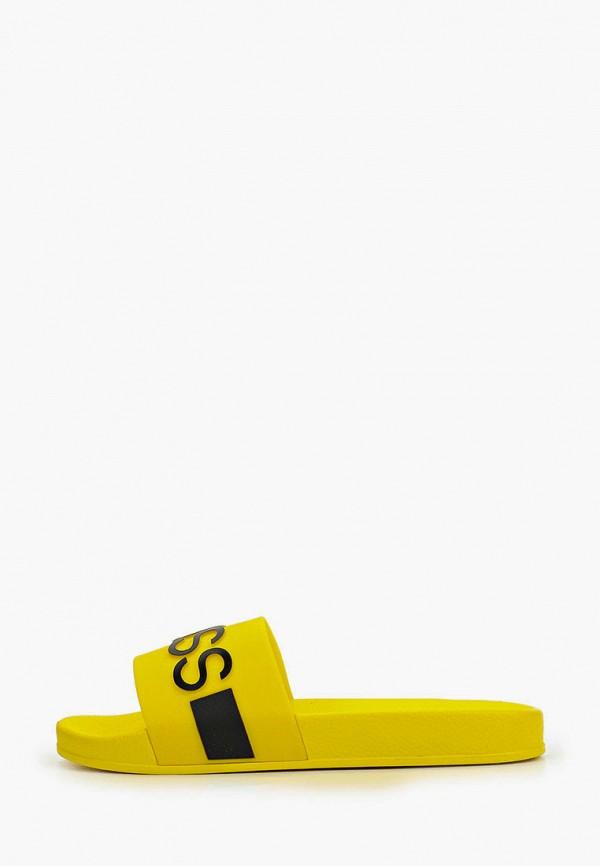 сабо boss для мальчика, желтое