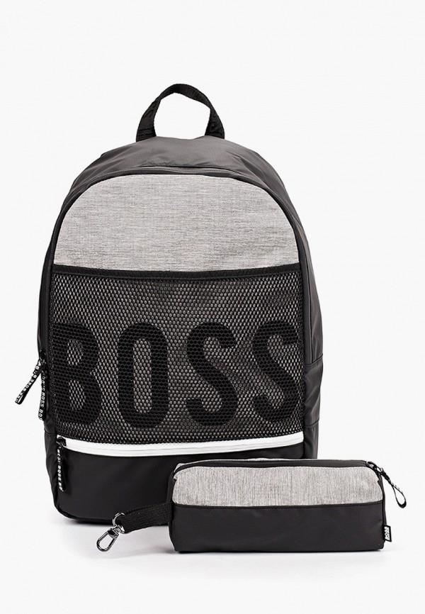 рюкзак boss для мальчика, черный