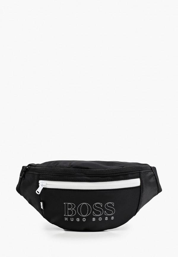 сумка boss для мальчика, черная