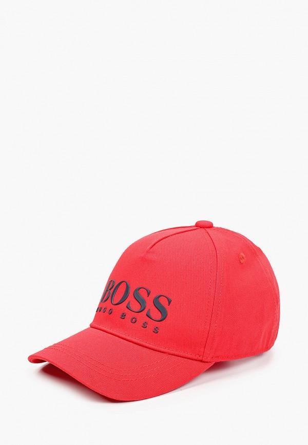 бейсболка boss для мальчика, красная