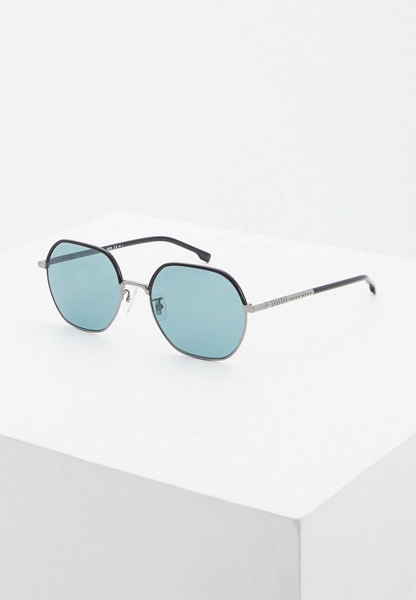 мужские солнцезащитные очки boss, черные