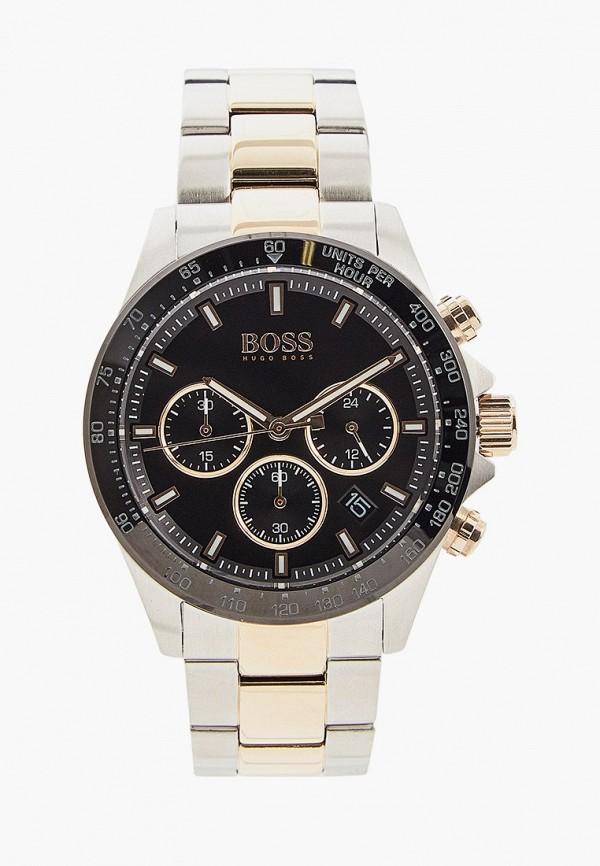 мужские часы boss, серебряные
