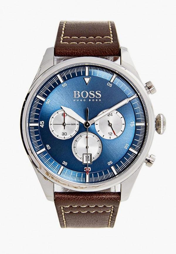 мужские часы boss, коричневые
