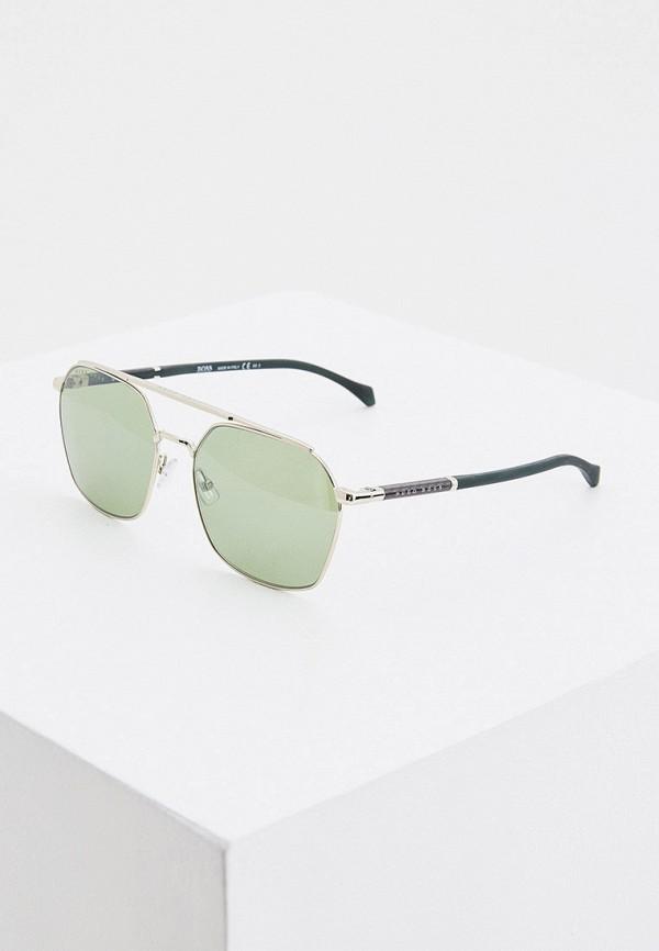 мужские солнцезащитные очки boss, зеленые