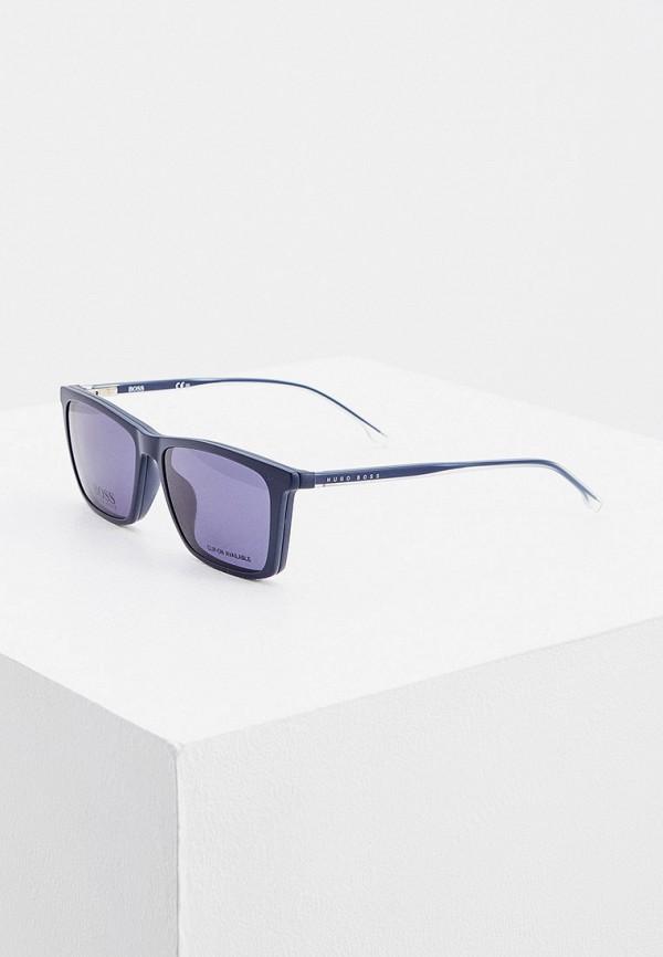 женские солнцезащитные очки boss, синие