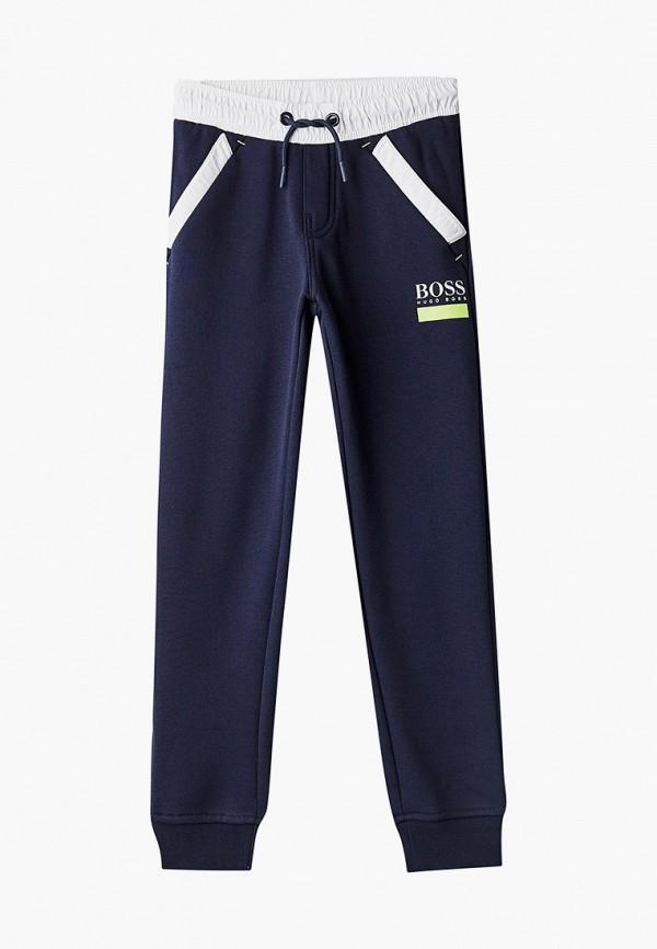 спортивные брюки boss для мальчика, синие