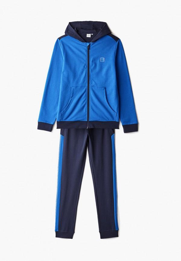 спортивный костюм boss для мальчика, синий