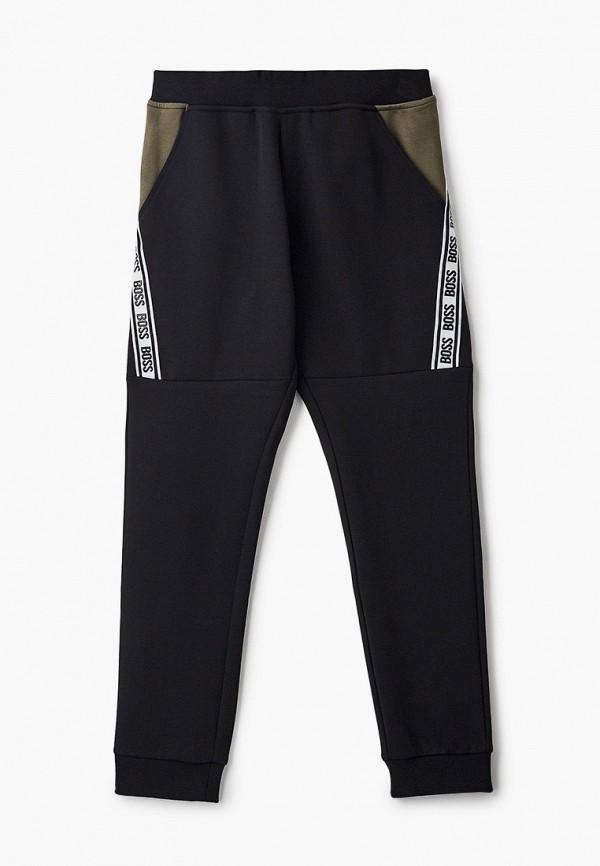 спортивные брюки boss для мальчика, черные