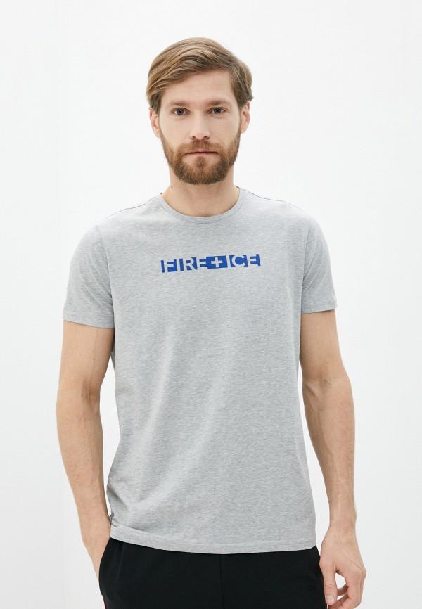 мужская футболка bogner, серая