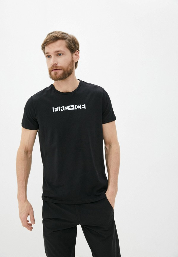 мужская футболка bogner, черная