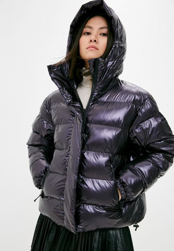 женская куртка bogner, фиолетовая