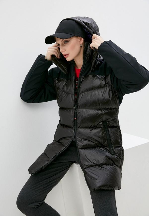 женский пуховик bogner, черный