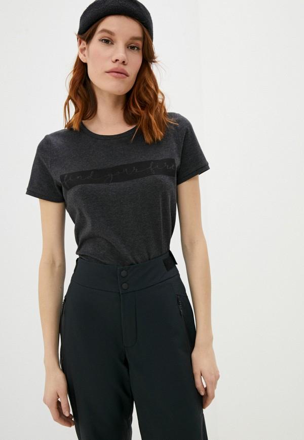 женская футболка bogner, серая